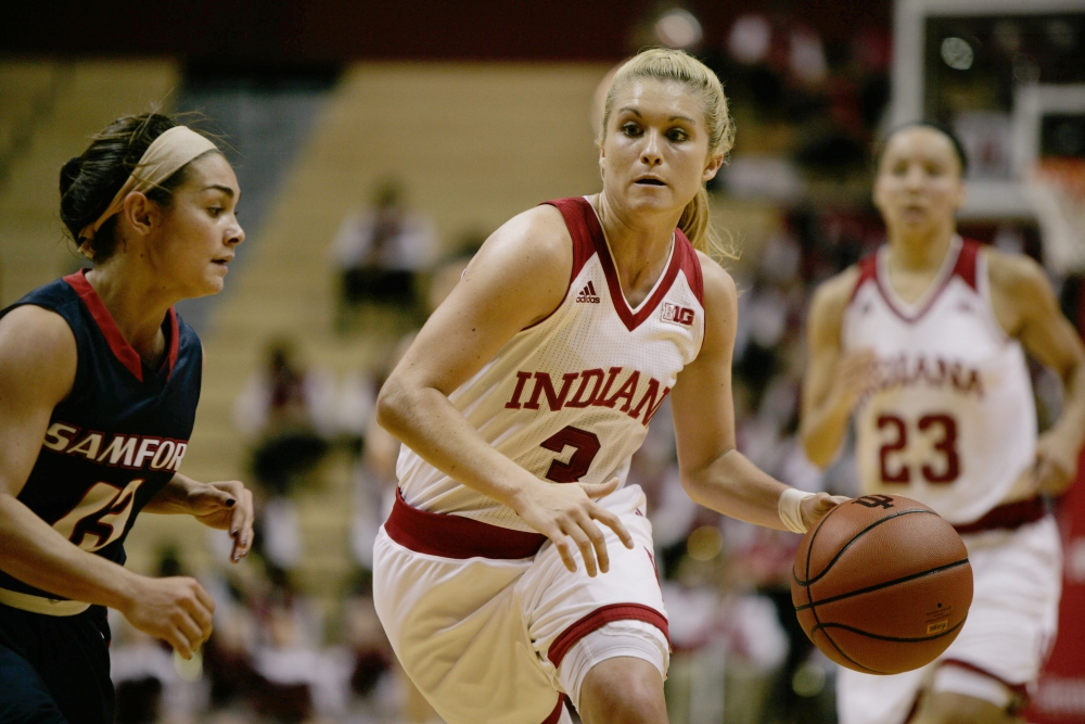 Iu Womens Basketballs Road Woes Continue - Indiana -9851