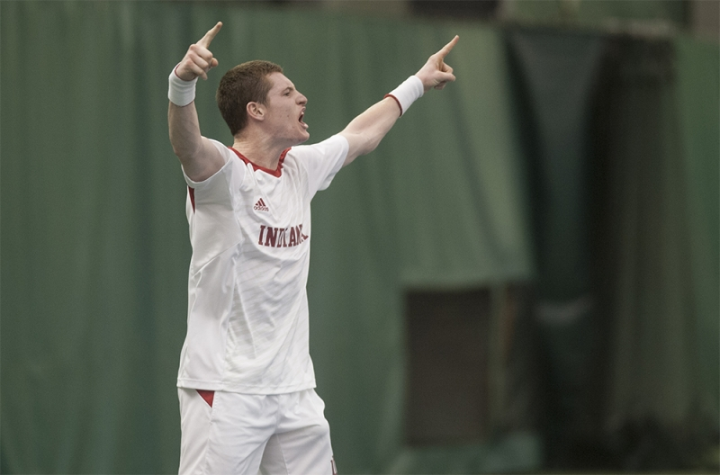 IU men's tennis sweeps at home to stay undefeated ...