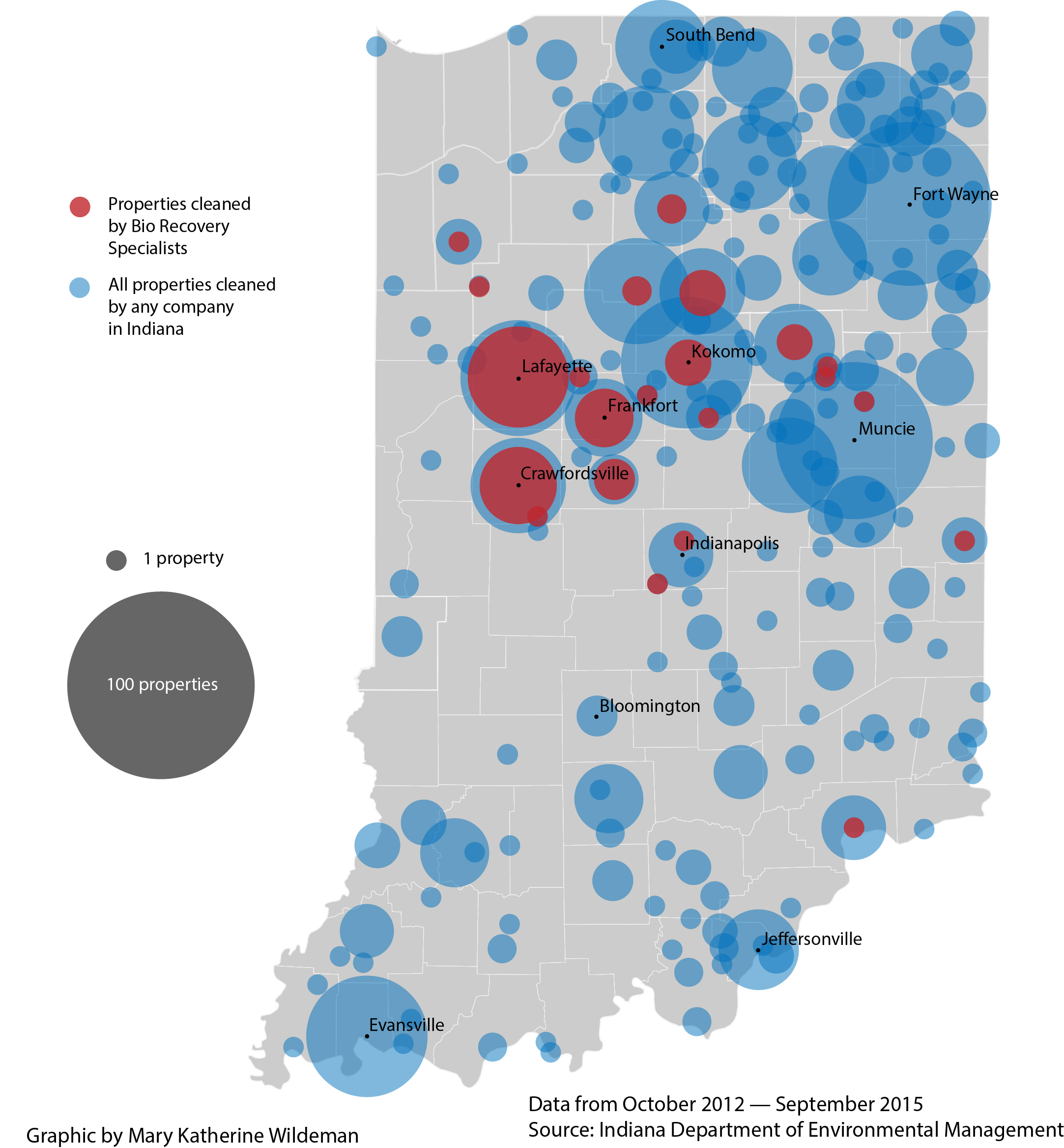 Indiana white county idaville - The Indiana State Police Keeps A Website Tracking The Location Of Uncleaned Meth Labs There Are 3 427 Buildings Recorded Since January 2007