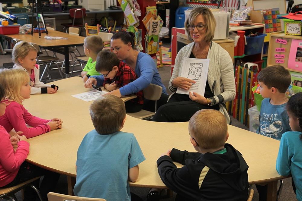 Eileen works at preschool.