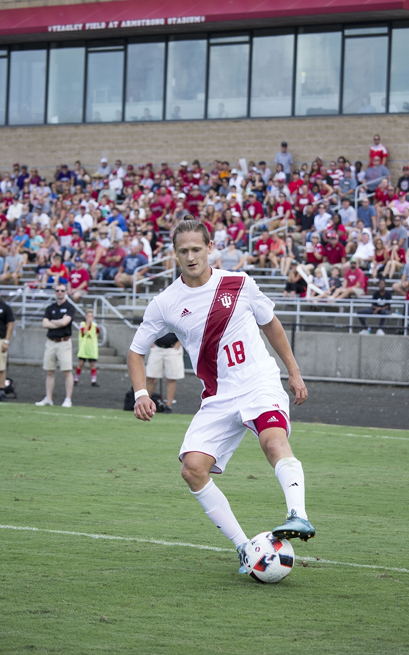 IU men's soccer set for another Top-10 road match ...