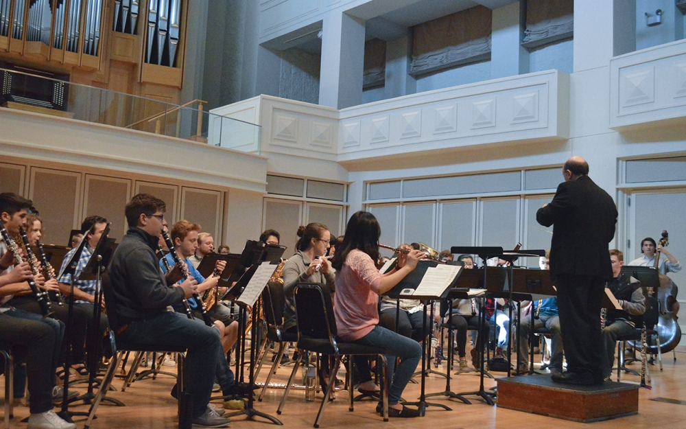 Wind ensemble to perform first concert of semester