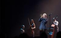 Chris Botti performs at the IU auditorium Saturday evening.