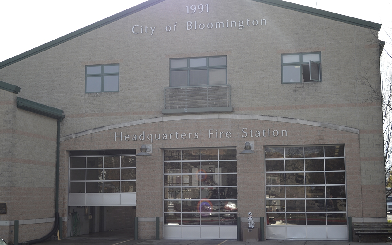 The Bloomington Fire Department, located at 300 E. Fourth St., is owed $235,000 by the City of Bloomington.