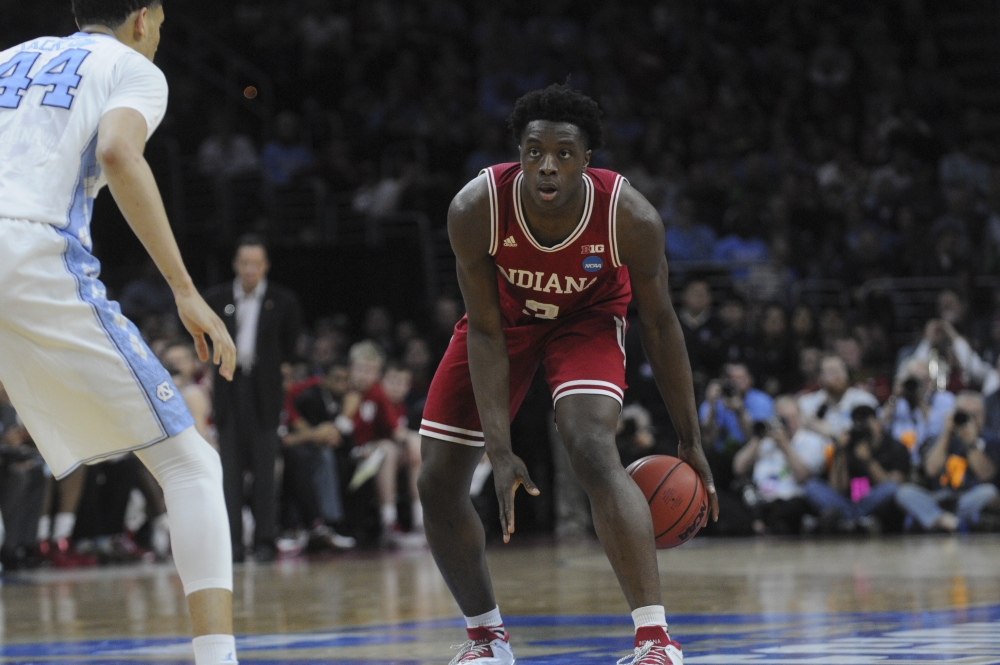 Hoosiers hold off Tar Heels