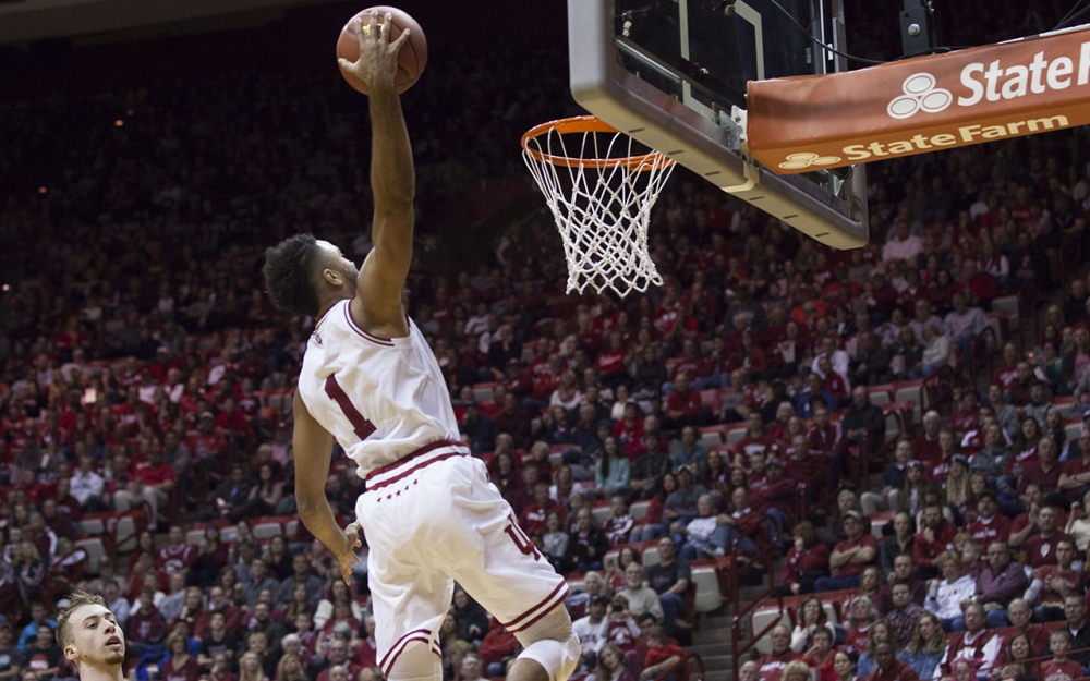 James Blackmon Jr. leads the way for IU over Houston Baptist