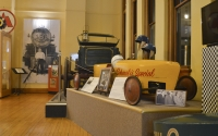 """Life Behind the Wheel"" is a new exhibit in the Monroe County History Center. It features a soapbox car, a license plate collection and more."