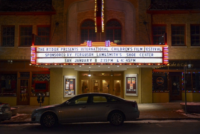 The Ryder Film Series took place Jan. 7-8.