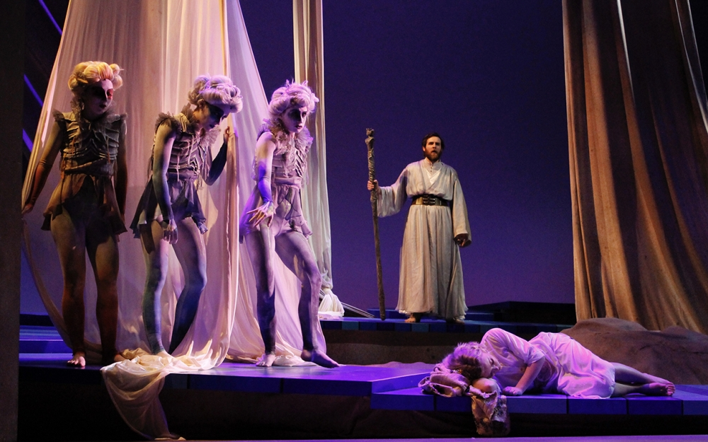 Theater department stages 'The Tempest' with a twist