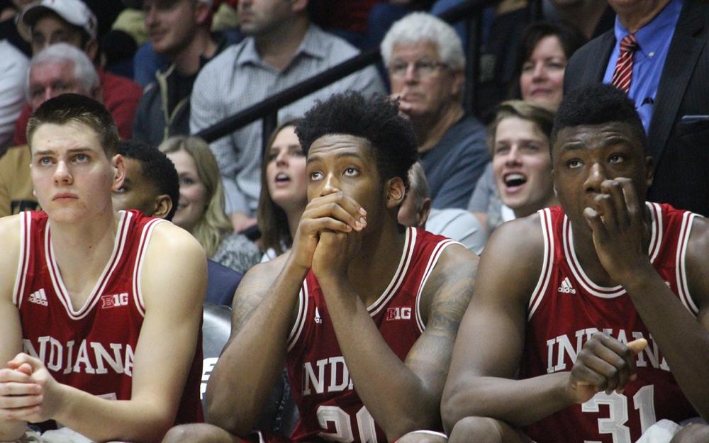 Johnson breaks slump to lead IU over Ohio State