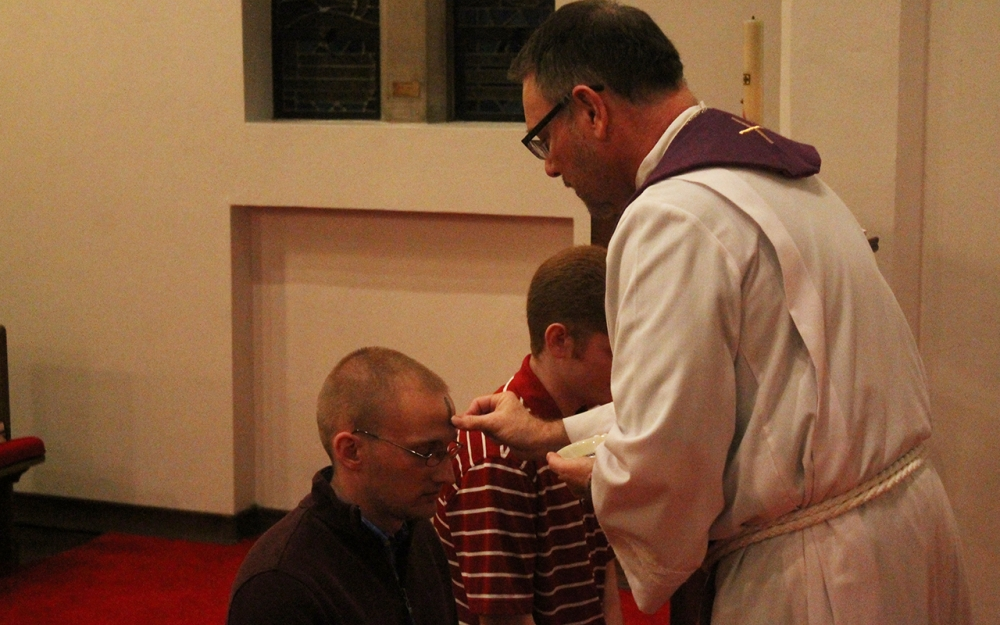 Bloomington parishes observe Ash Wednesday, beginning of Lent