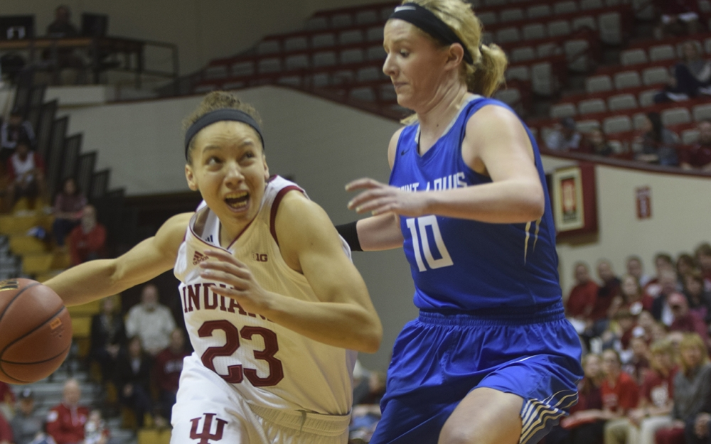 IU takes on SMU in WNIT Round of 16