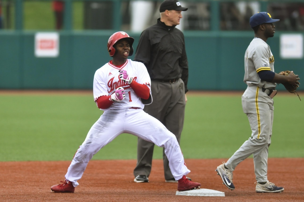 Indiana tops Michigan 5-4 in 13 innings at Big Ten tourney