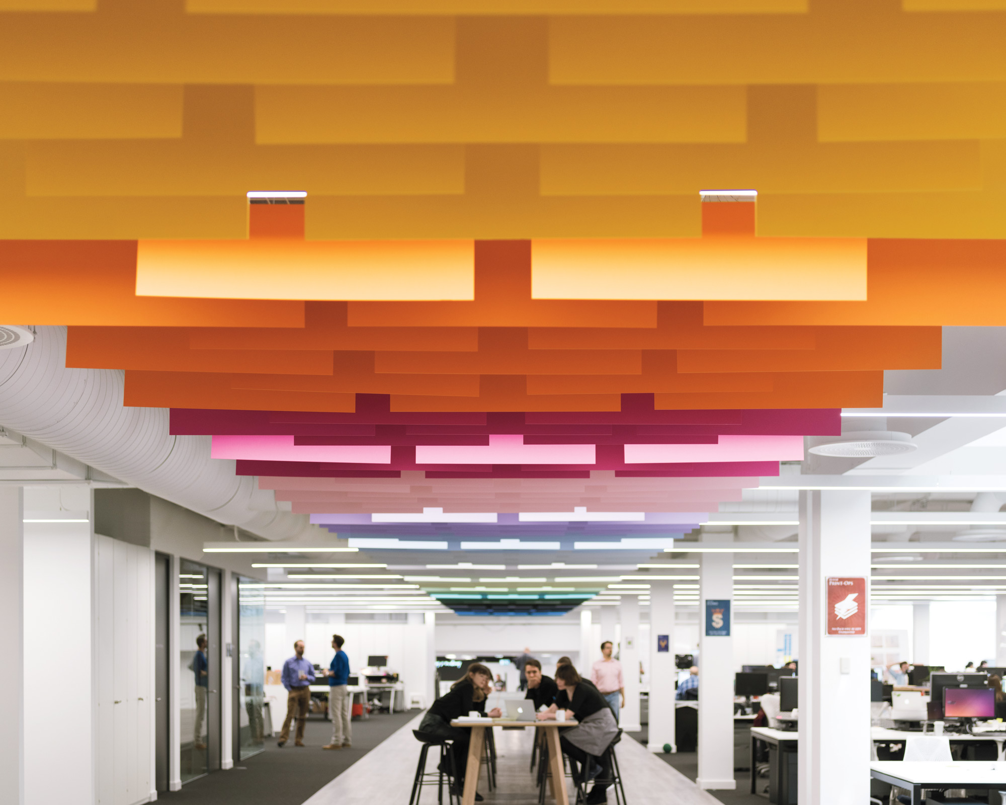 New office projects by emerging firms for Largest interior design firms
