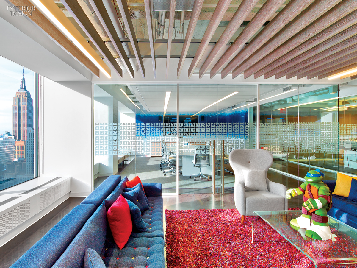 5 firms design viacom 39 s midtown nyc headquarters for Top interior design firms in nyc