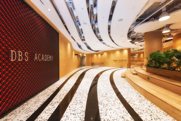 New builds in singapore innovative office designs attract for Interior designer education