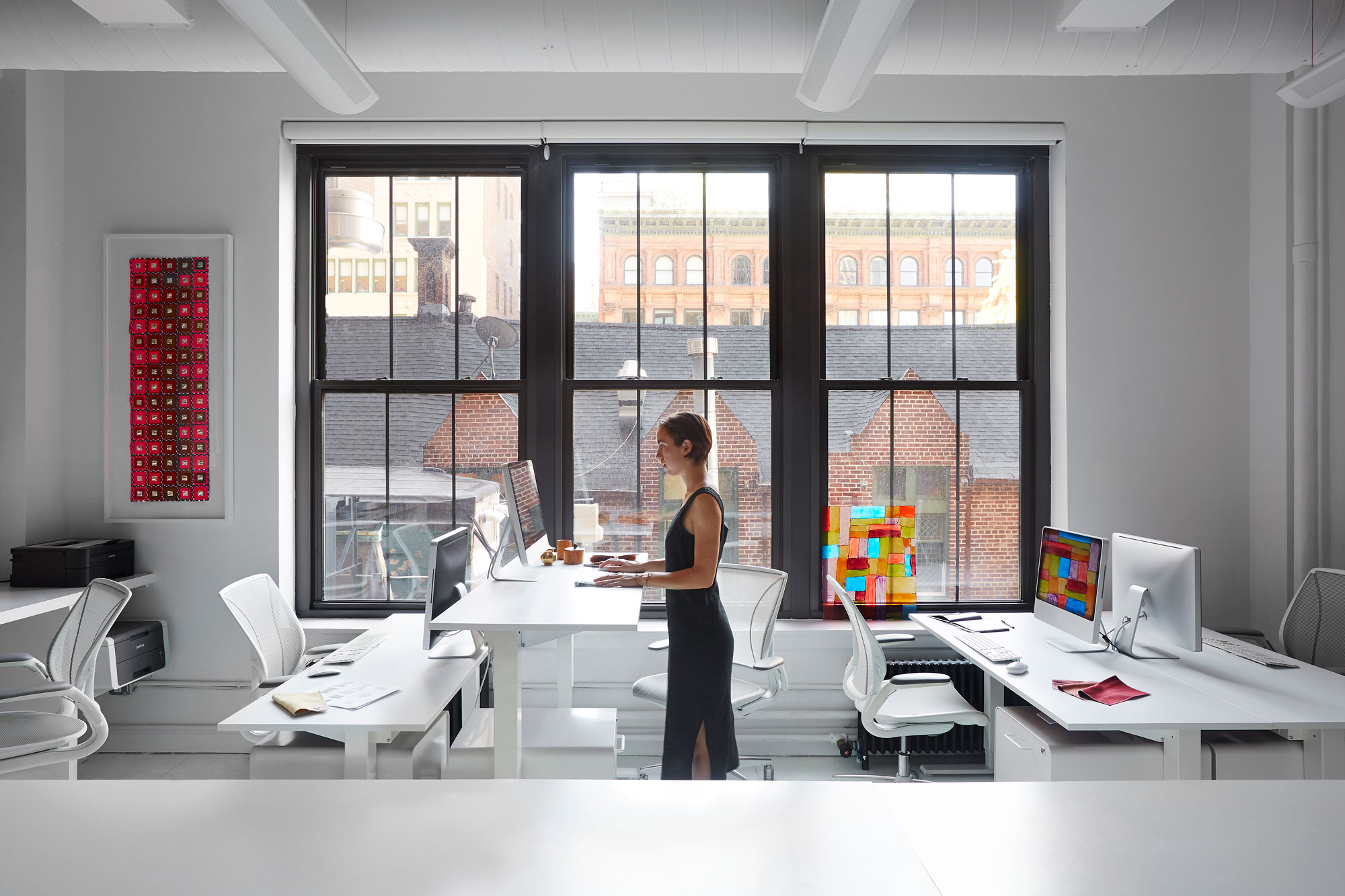 Humanscale Table And Task Chair Receive Full Living