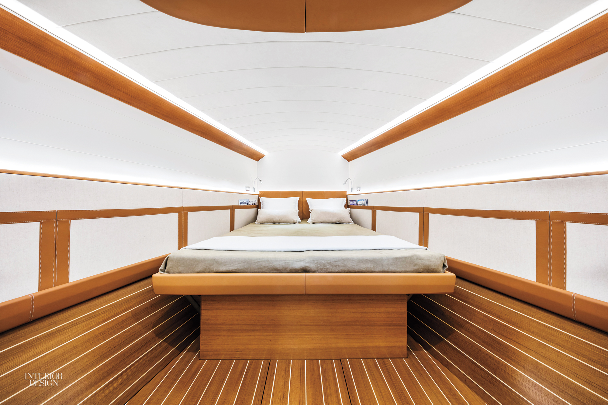 ClubSwan 50 Yacht Features Luxe Interiors By Poltrona Frau And Michele Bonan