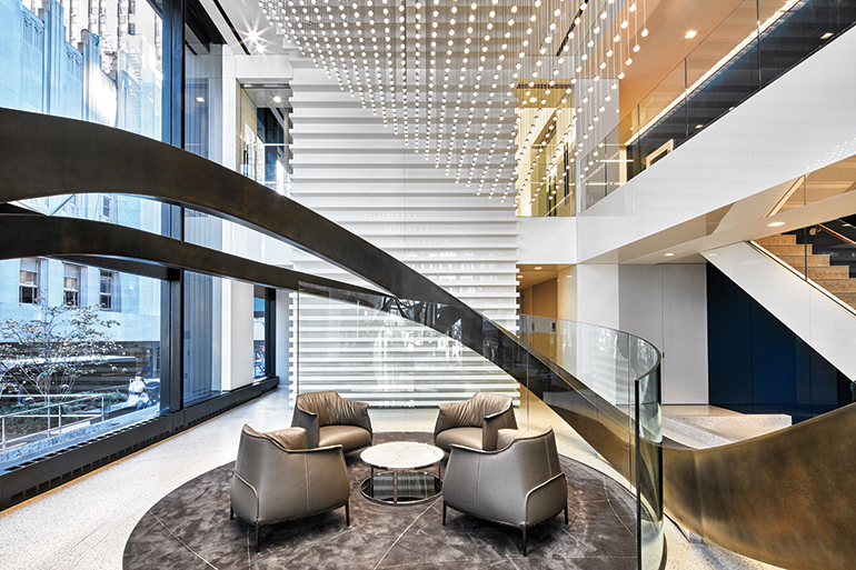 Iida award winner capital one by gensler for Award winning office interiors