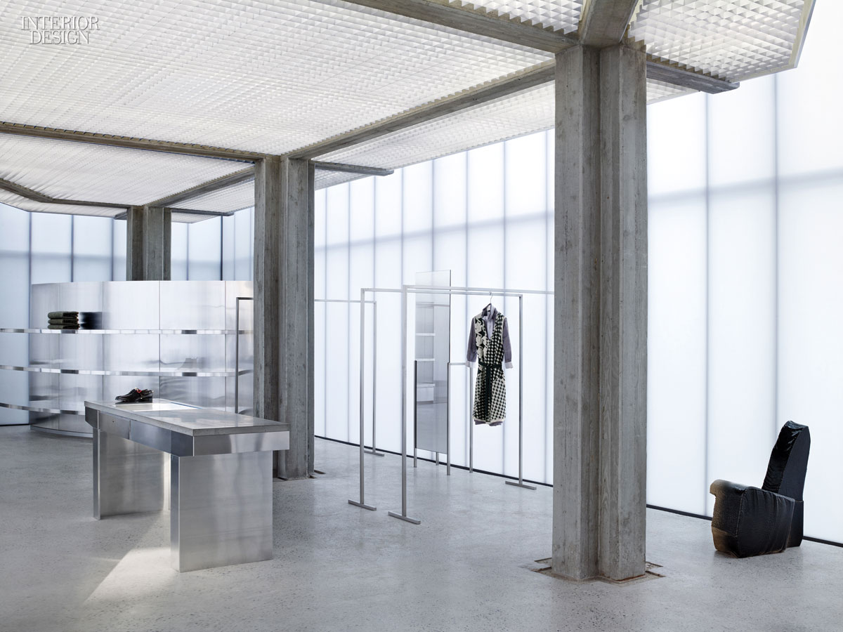 Sophie Hicks S Strikingly Minimalistic Acne Boutique In