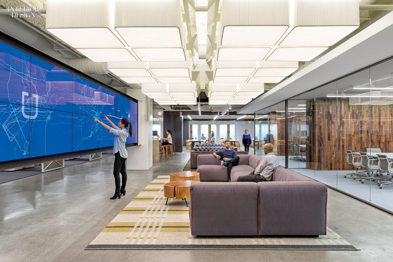 7 simply amazing tech offices for Interior design companies in usa
