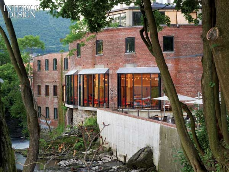 Falling Water Rockwell Group Transforms An Old Mill In