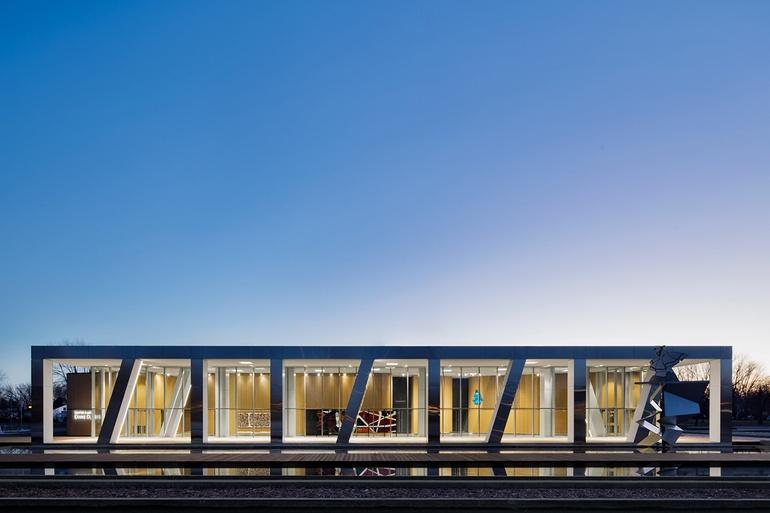 6 simply amazing museum interiors for Architecture 770
