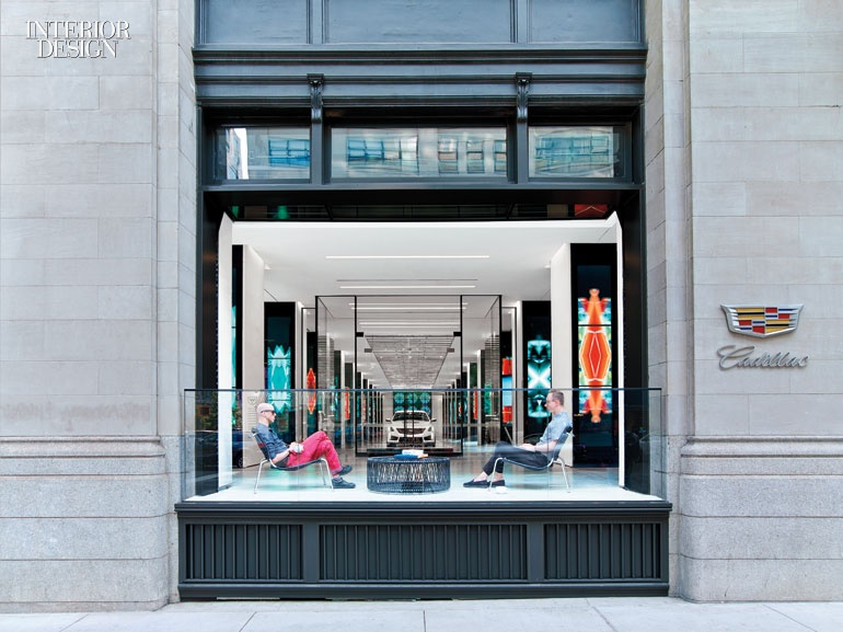 Gensler brings downtown cool to cadillac with a sparkling for Interior design office names