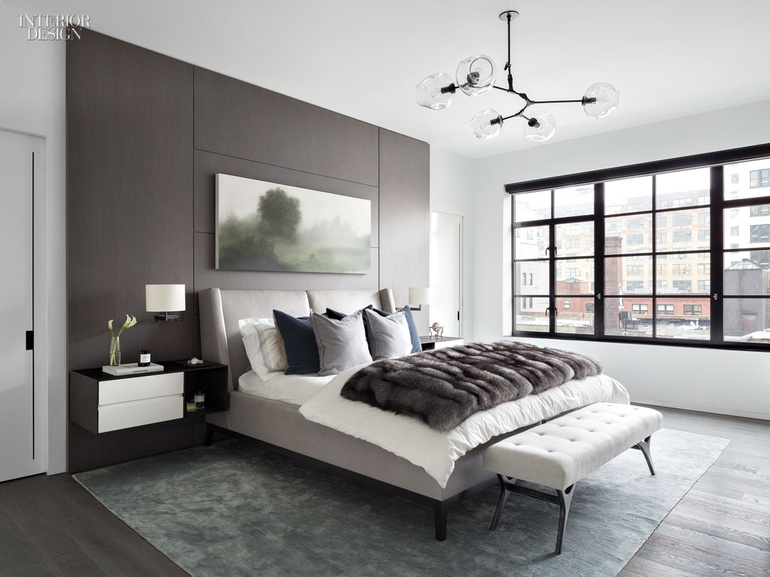 To Add Character, Cohesion, And Visual Texture To This High Line Apartment,  Workshop/APD Designed The Master Bedroom Around Kibong Rheeu0027s Floating  Island, ...