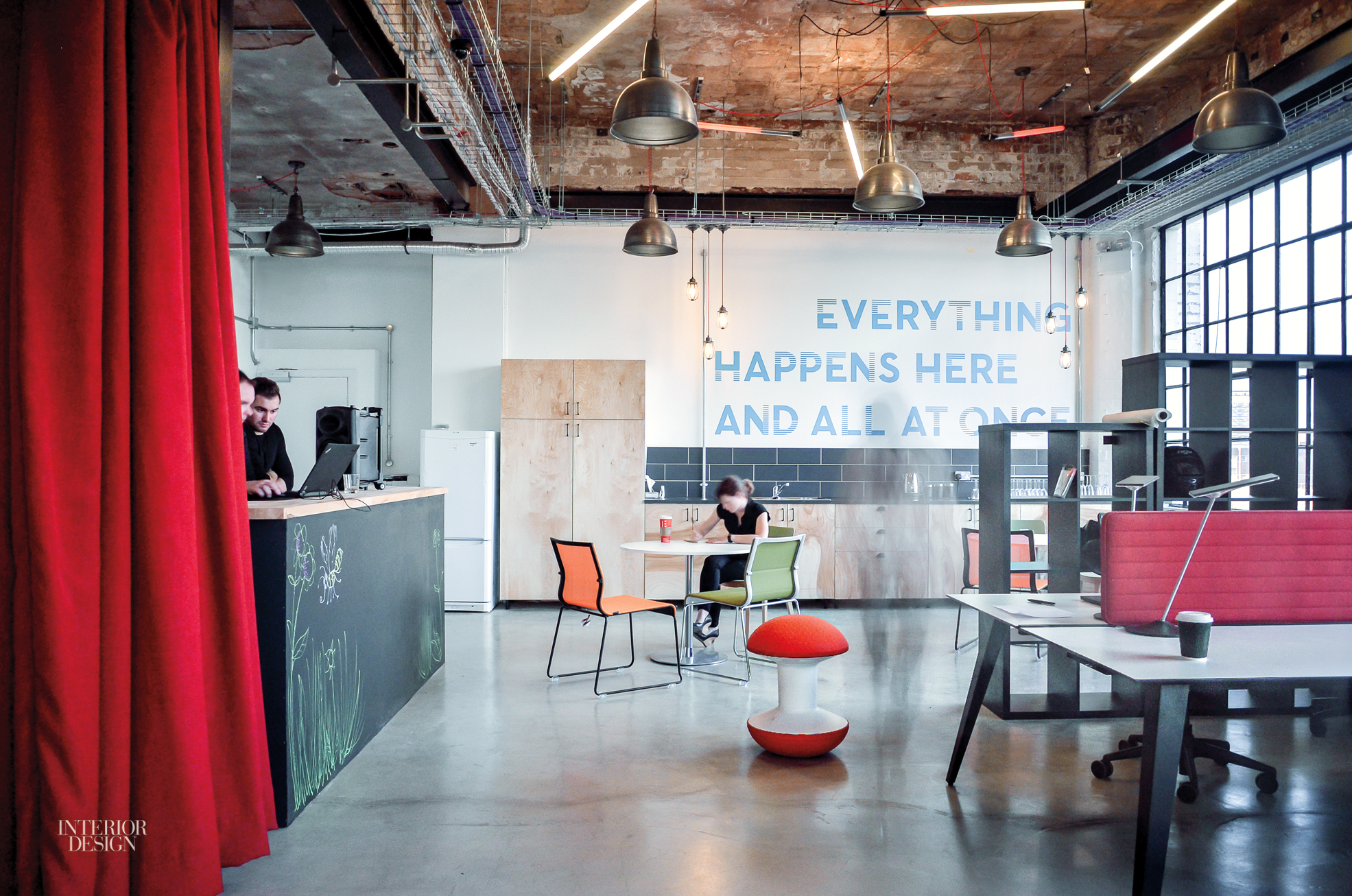 Gensler Converts Factory Loft Into Office In Birmingham UK