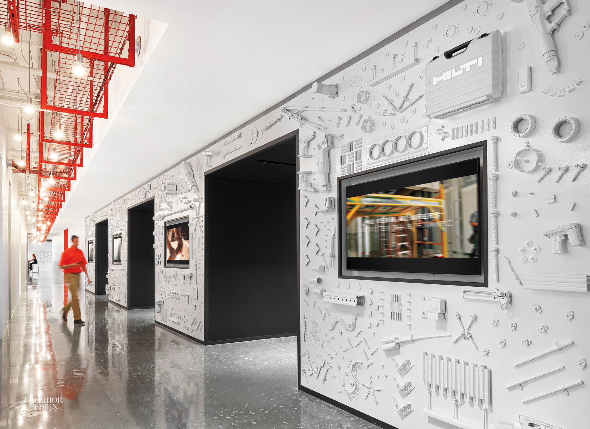 26000 construction products used in hilti headquarters for Interior decorator plano