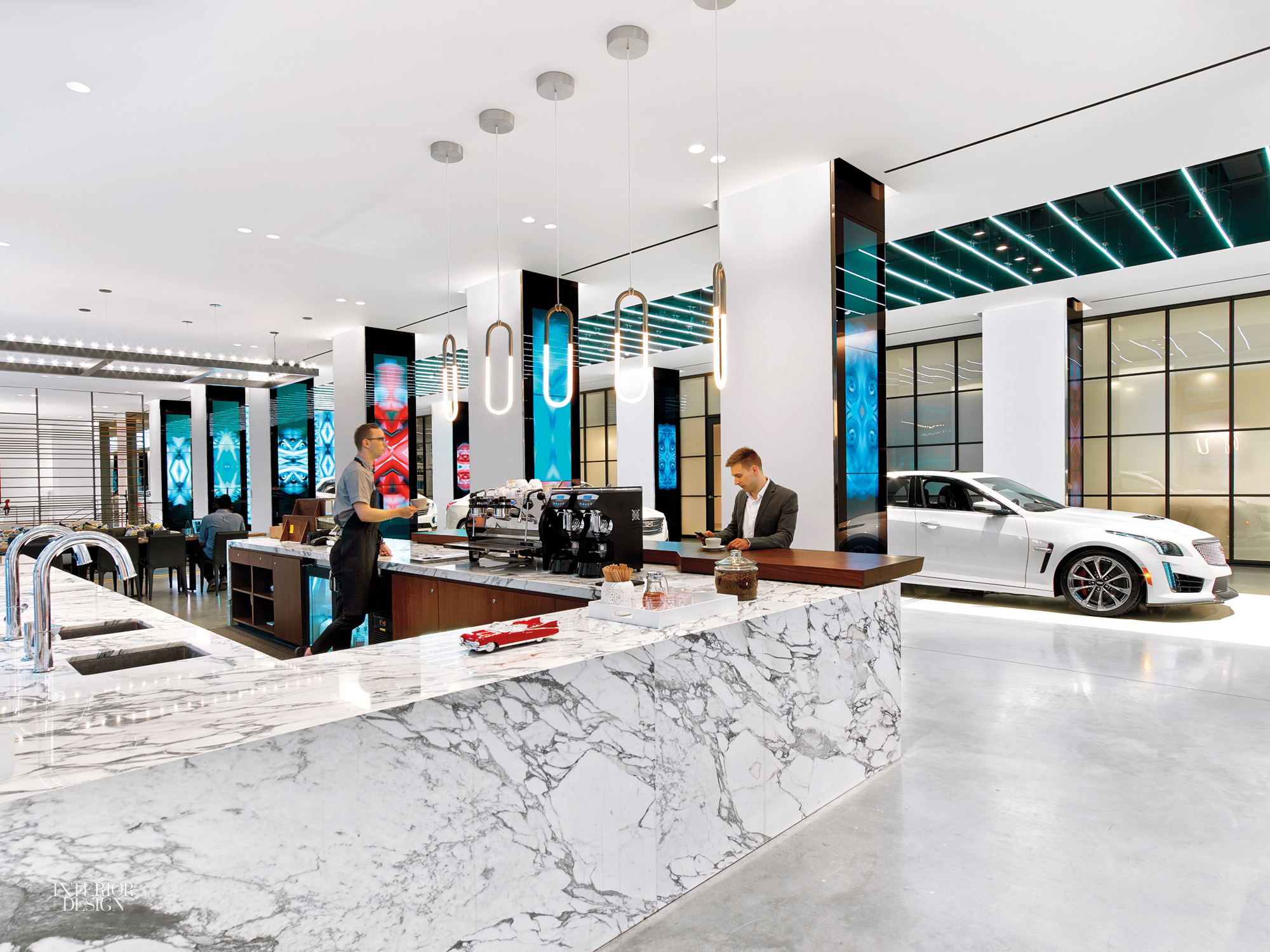 Cadillac House By Gensler 2016 Best Of Year Winner For Showroom