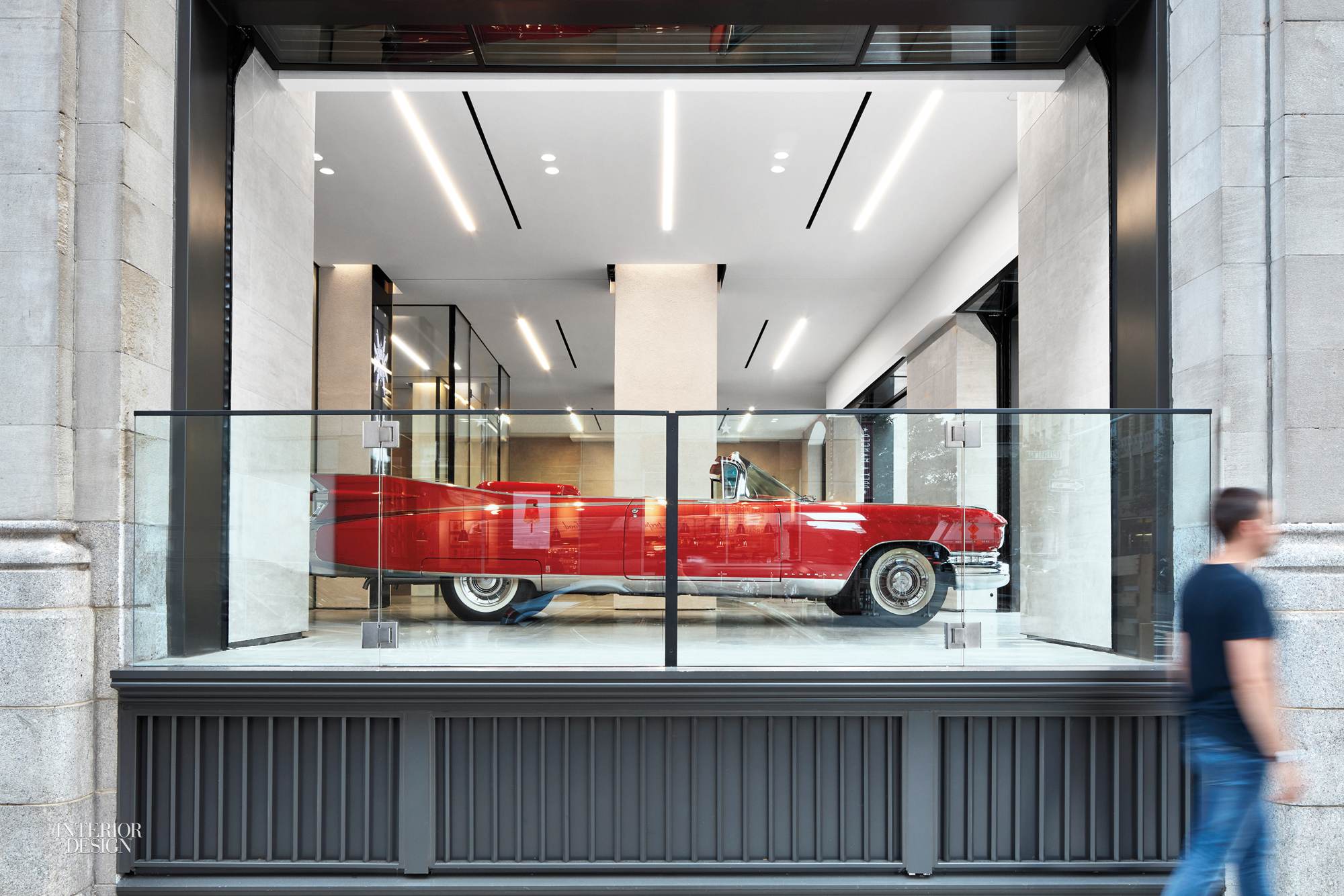Cadillac house by gensler 2016 best of year winner for for Car showroom exterior design