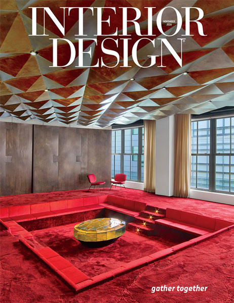 Interior design november 2016 for Interior design magazine