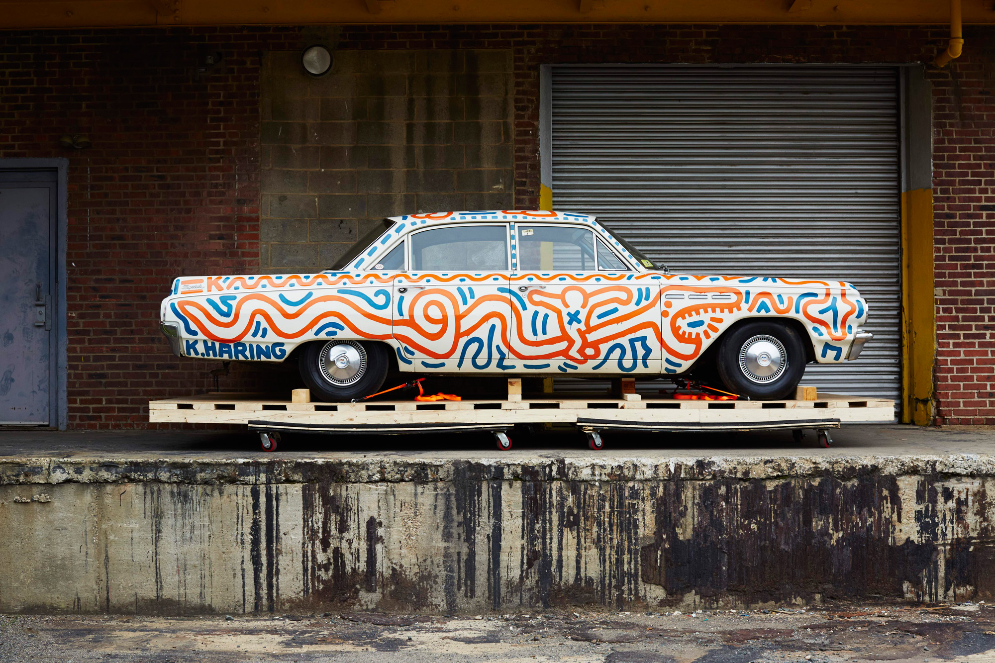 Keith Haring Cars A Draw At The Petersen Automotive Museum