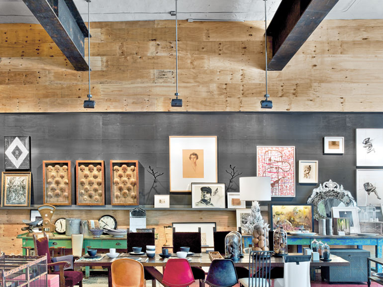 Mark zeff converts a 1920 dumbo warehouse into a creative - Austin interior design firms ...