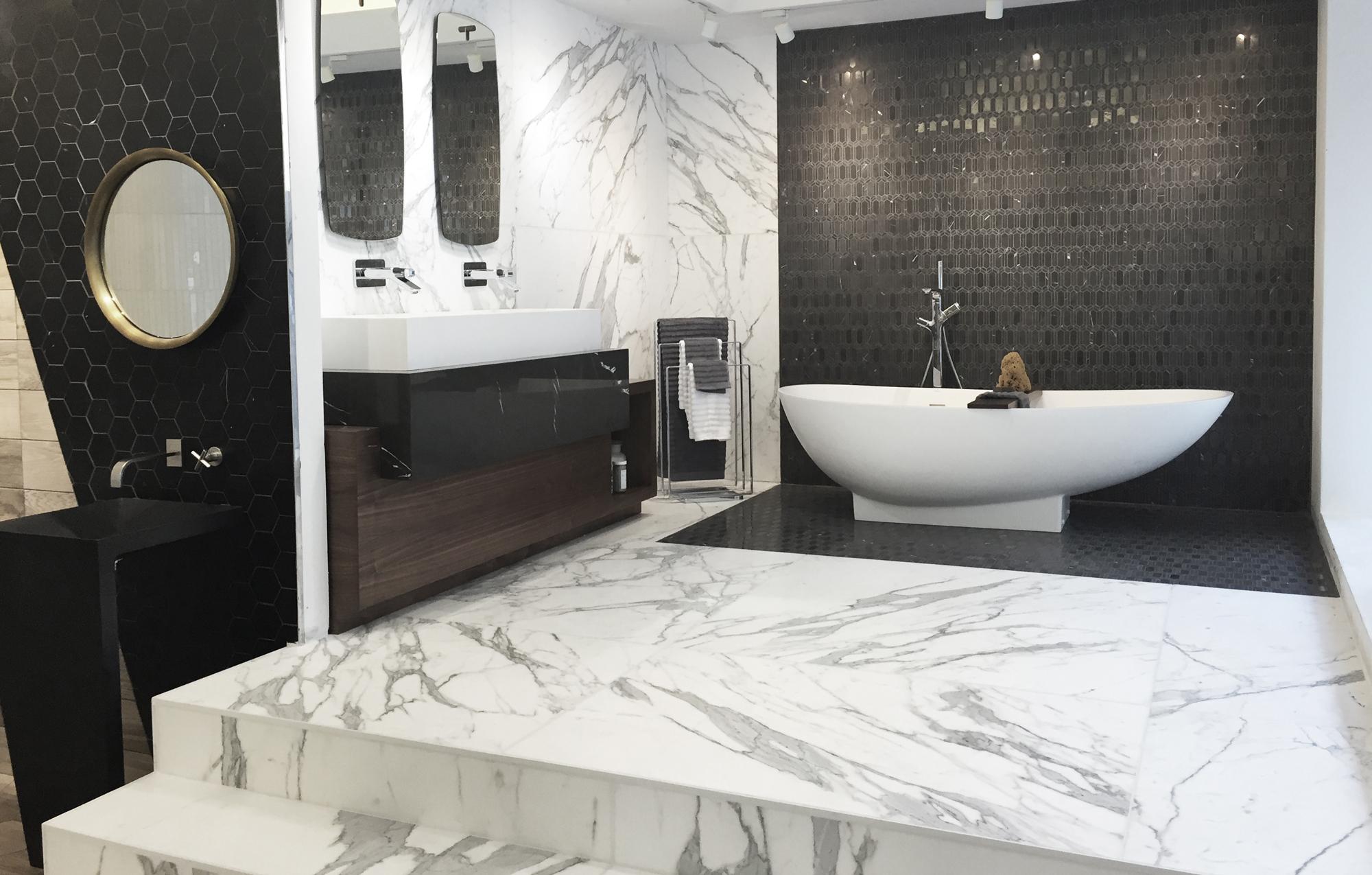 Nemo tile teams up with bisazza - Interior design tiles showroom ...