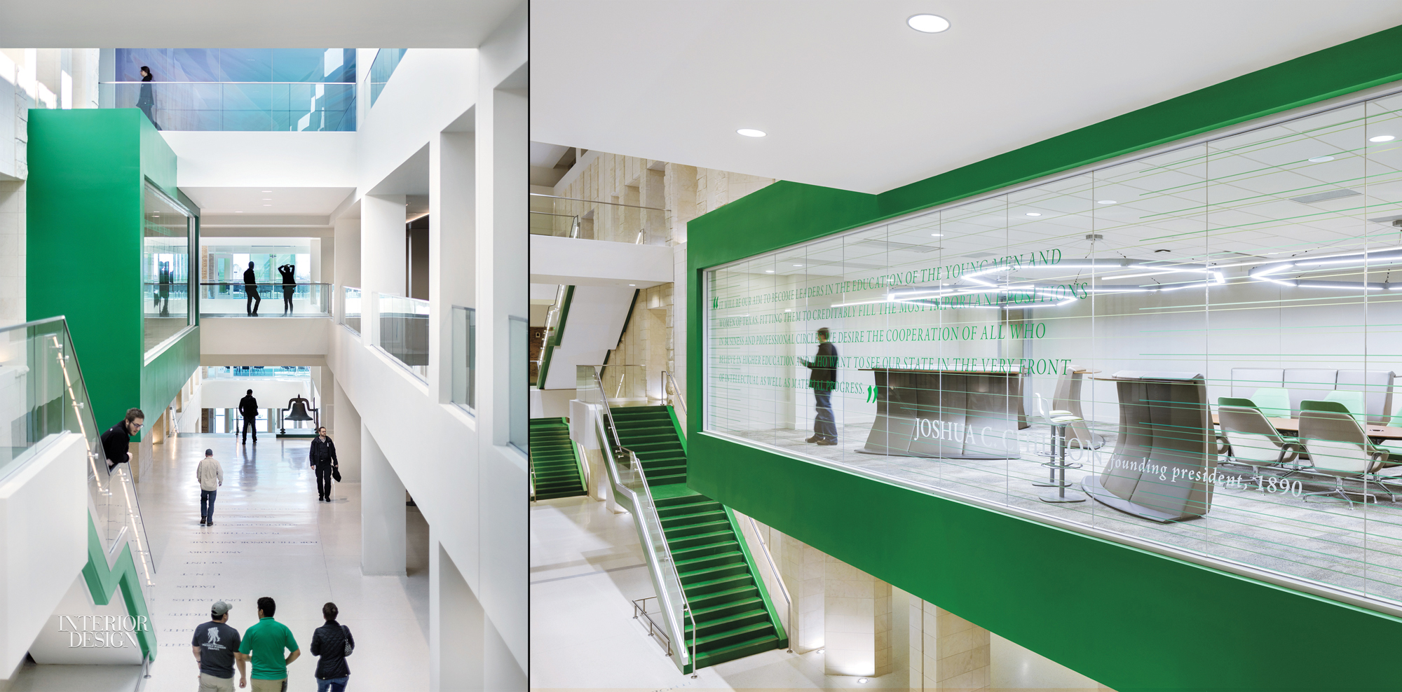 Unt Student Center By Perkins Will 2016 Best Of Year Winner For Mixed Branding Graphics