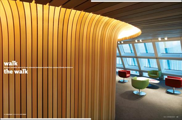 Walk the walk studios architecture designs bouygues for Immobilier design paris