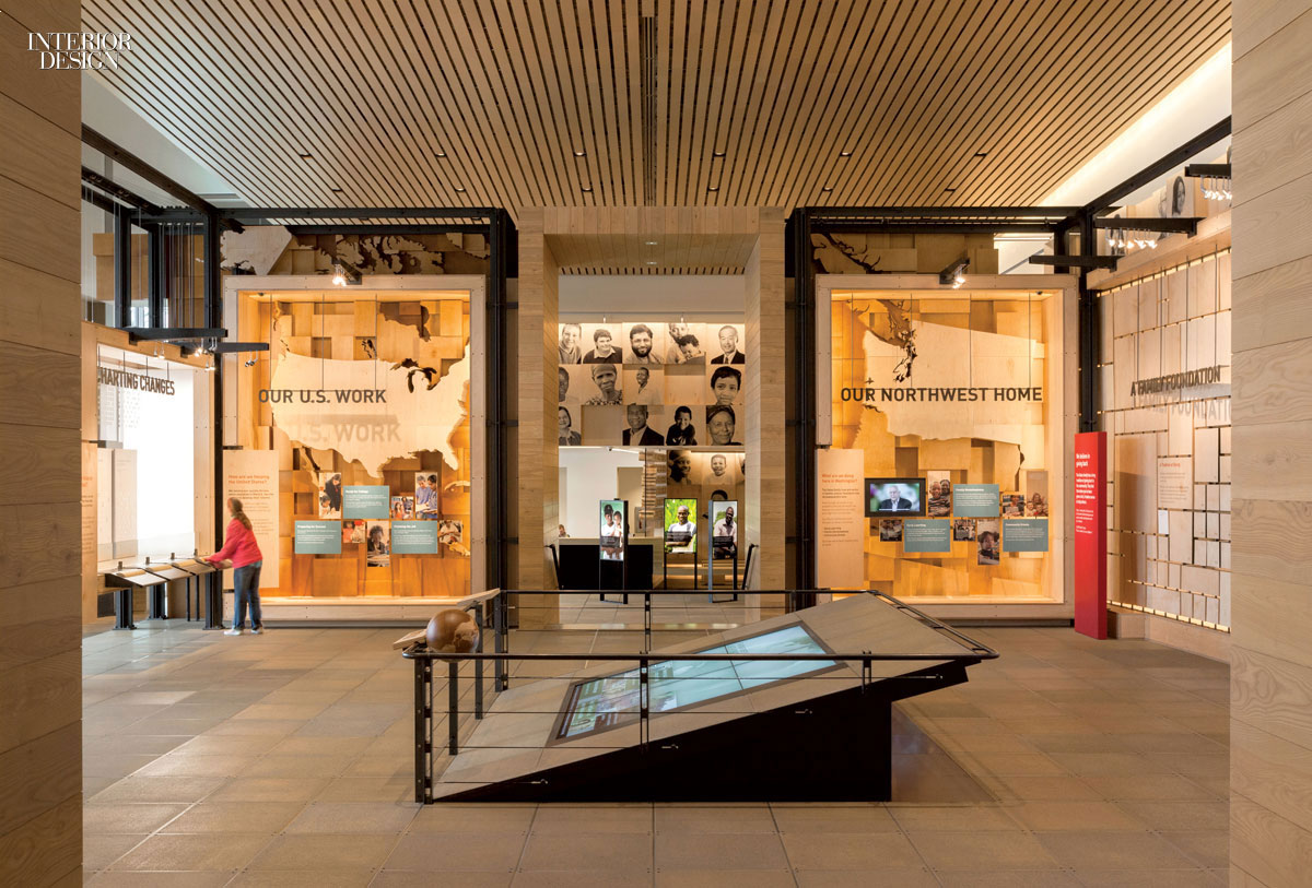 Gateway to the gates foundation visitor center by olson kundig for Foundations of interior design