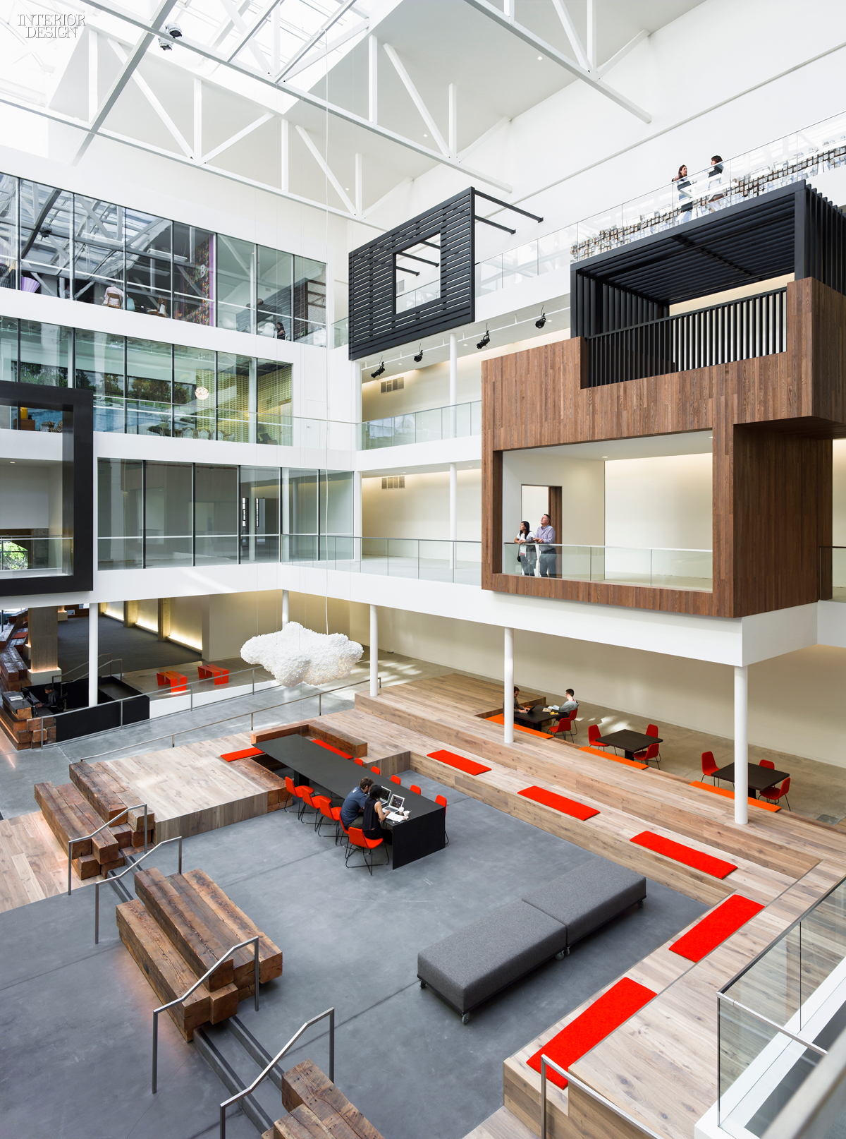 2015 top 100 giants rankings for Office space design companies