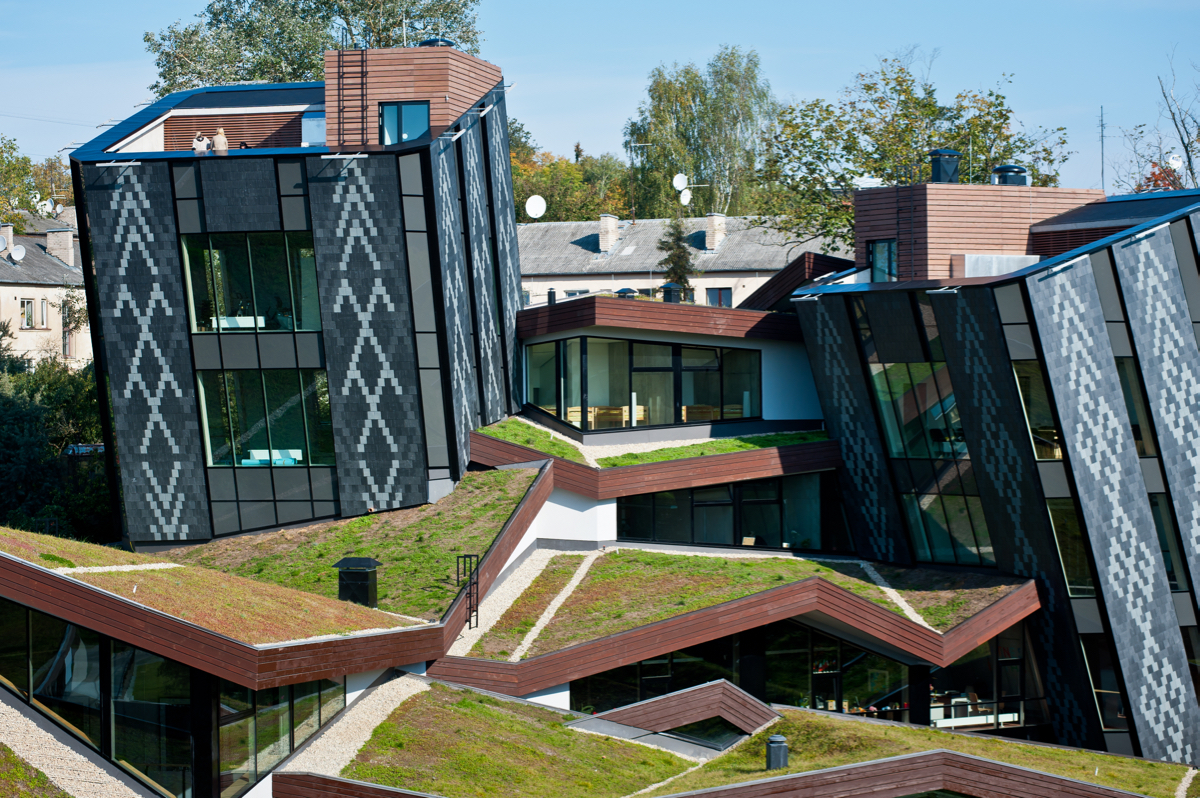 6 Futuristic Projects Sprouting Green Roofs