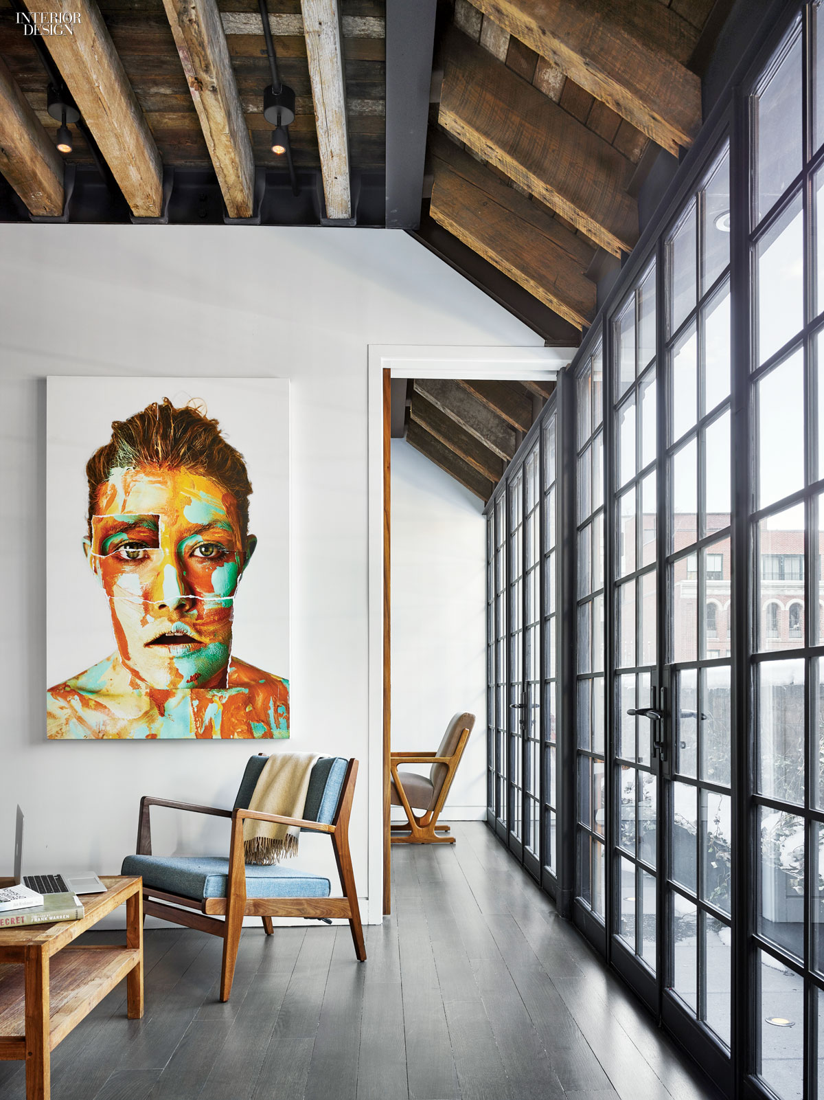 Oda new york designs tribeca penthouse for Top interior design firms in nyc