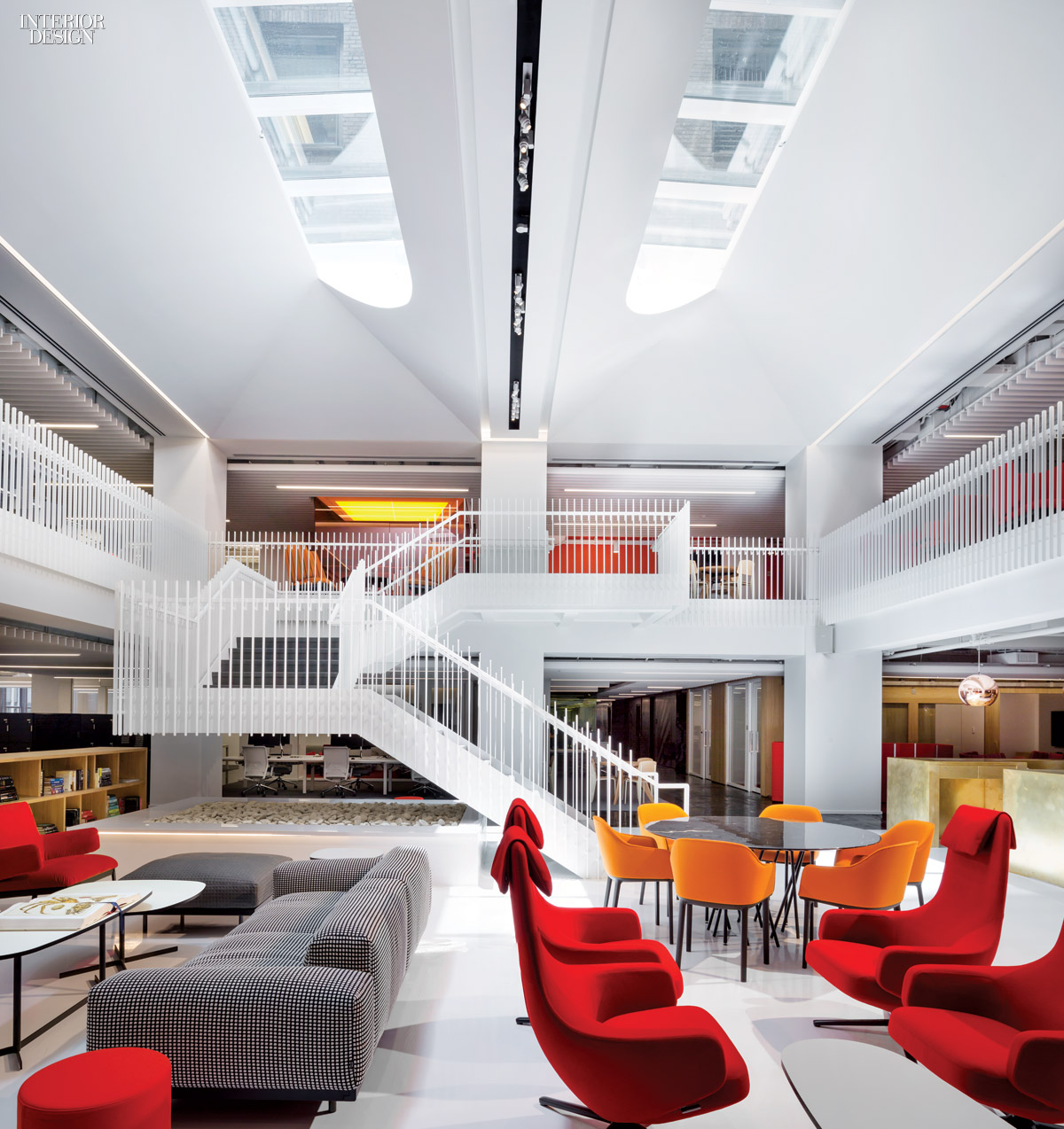 Seeing the light clive wilkinson 39 s hq for gerson lehrman for Architecture interior design new york