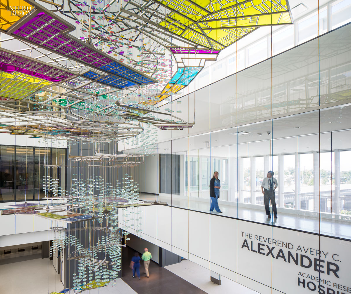 Top 40 healthcare giants of 2015 for Healthcare interior design awards