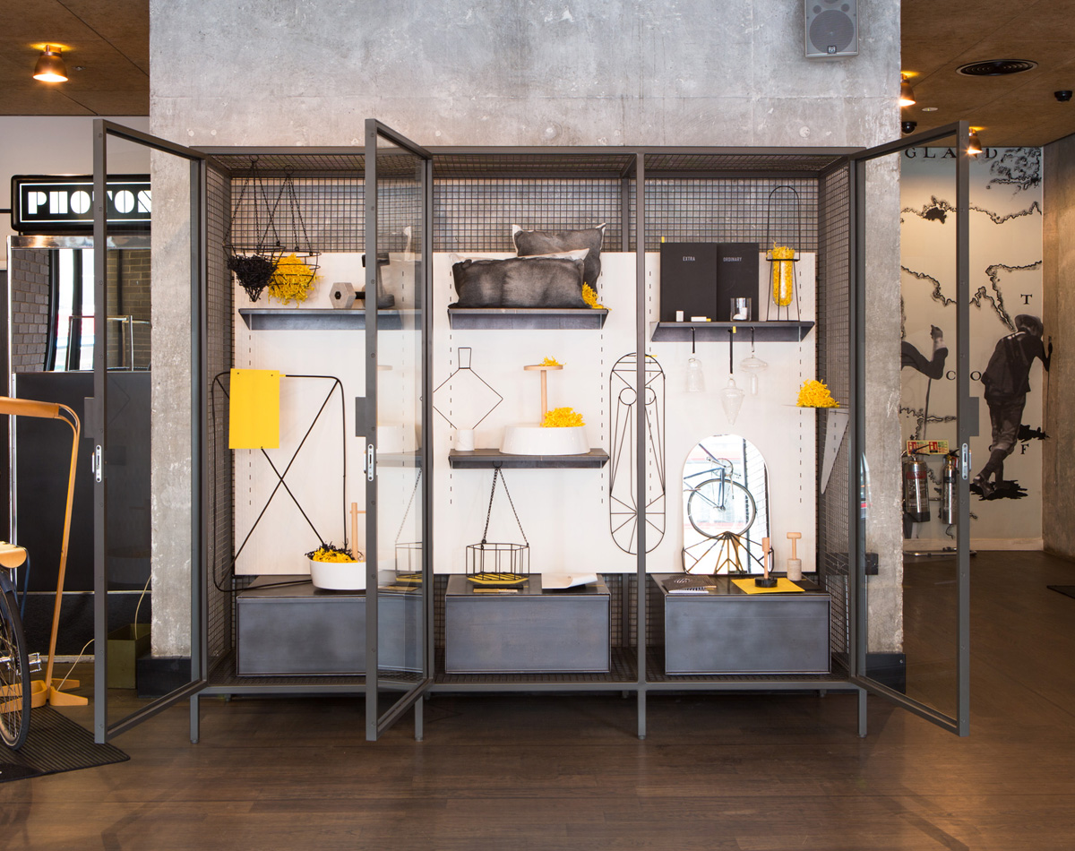 Fabrica installs extra ordinary gallery at ace hotel london for Ace hotel decor