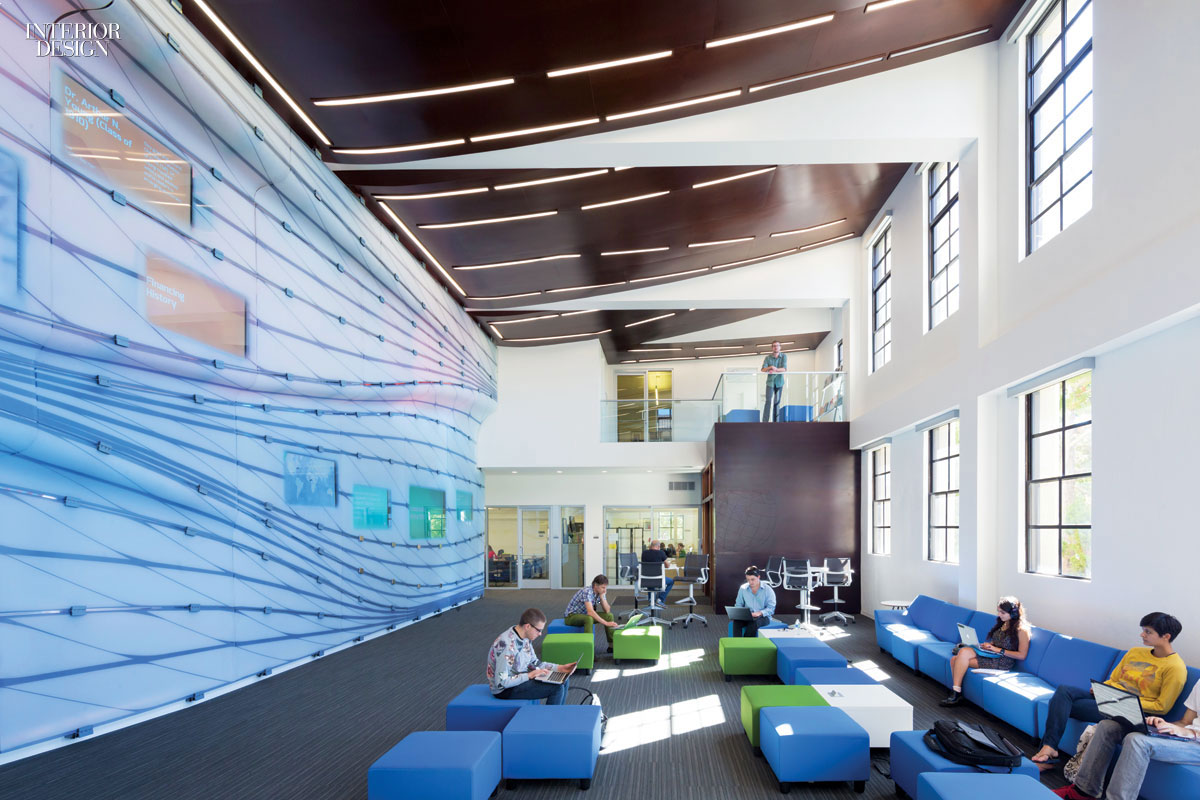 No more classrooms no more books belzberg renovates - Interior design school los angeles ...