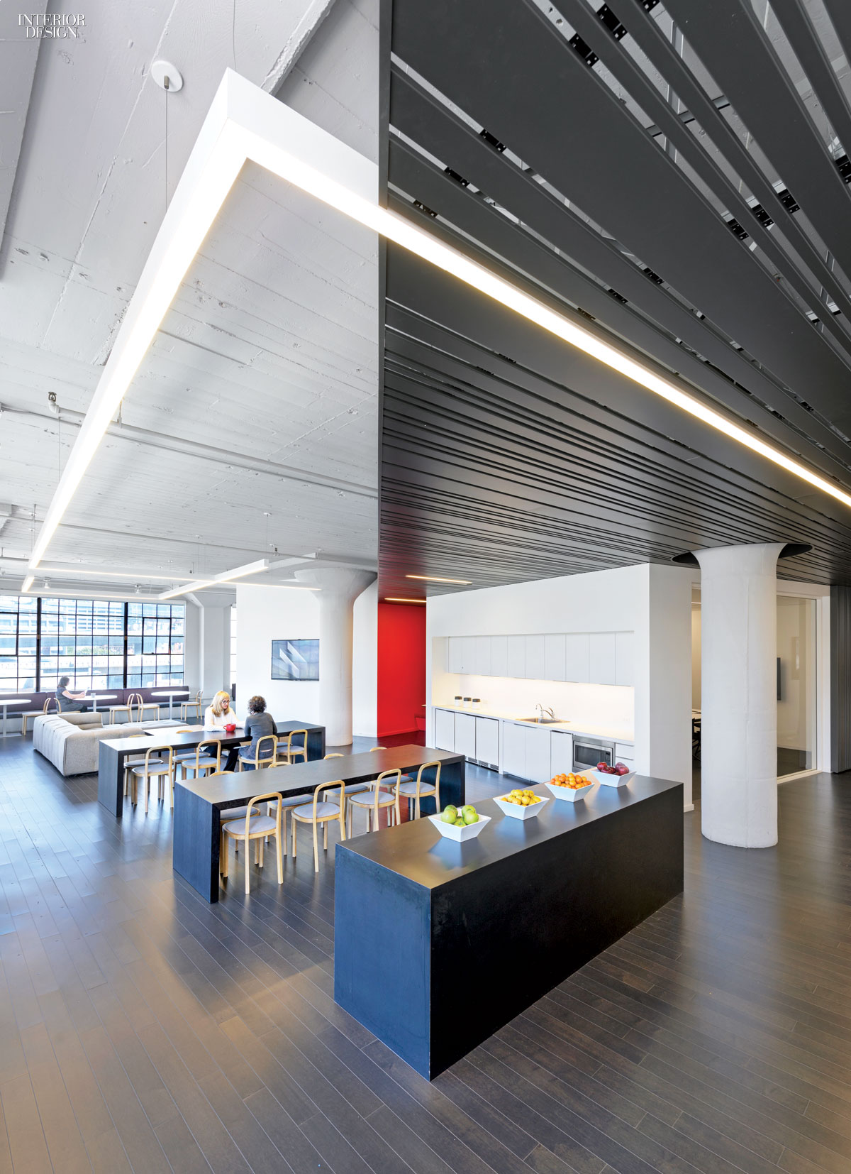 Wired magazine 39 s headquarters by gensler san francisco for Office design publications