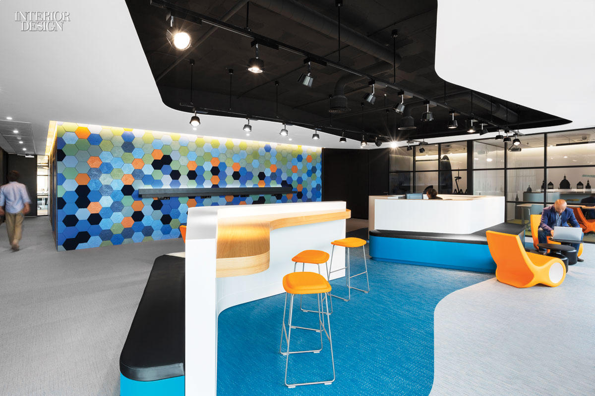 4 tech and finance companies rock out at the office for Technology office design