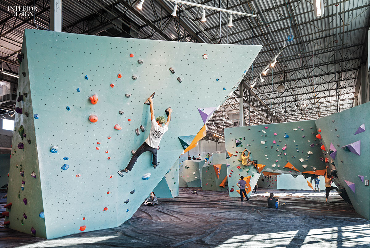 Austin bouldering project brings a friendly industrial - Austin interior design firms ...